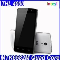 Original THL 4000 MTK6582M Quad Core 4.7 Inch IPS Screen Dual SIM Card 1GB/8GB 4000mAh Battery Android 4.4 Smartphone