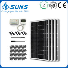 Factory directly selling high quality PWM marine solar panel kit