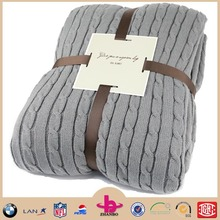 2015Chinese new style shu velveteen and woven 2in1 fleece blanket