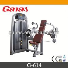 New hot multi-functional gym equipment seated triceps extension G-614/ gym triceps machine