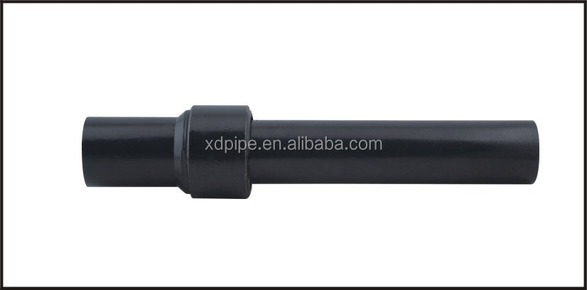 Hdpe fittings pe steel transition pipe for gas supply