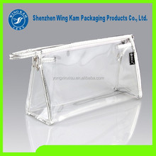 Plastic Soft Hanger Zipper Seal Transparent Bags Container