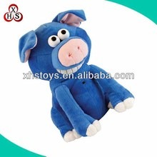 make your own black stuffed soft plush pig