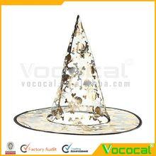 pcs 2 sombrero de la bruja de halloween para la decoración de fiesta cosplay disfraces de carnaval de color al azar