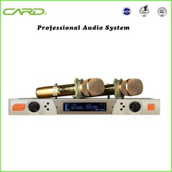 China uhf wireless microphone/ cheap wireless microphone for karaoke