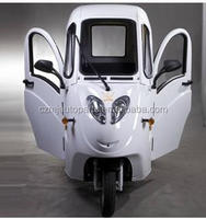 Hot Sale Closed Green energy three wheel motorcycle electric tricycle for old
