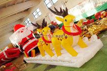 Hot selling inflatable Santa Claus & Reindeer for Chrismas, Chrismas / Xmas Decoration, Chrismas / Xmas Toys