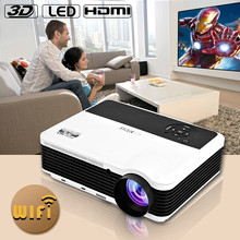 android projector full hd ready 1080P, 3600 Lumens with WIFI ,HDMI/TV/DVB