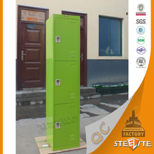 factory price import furniture steel wardrobe colorful clothing safe locker from china
