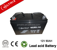 general security AGM Battery NP80-12