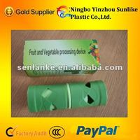 plastic fruit and vegetable processing device/cucumber double planer