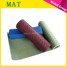 waterproof soft xpe foam folding portable embossing outdoor folding foam beach camping mat