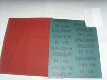 aluminum oxide, silicon carbide, waterproof abrasive paper