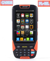 CARIBE PL-40L AF183 rugged handheld pda MTK6572 dual core 4inch Sun Light Readable 4000mah battery support 1d 2d barcode Reader