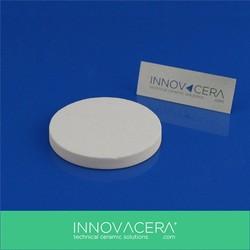 1 Micron White Alumina Porous Ceramic Disc Filters For Fish Farm Oxysen Diffuser/INNOVACERA