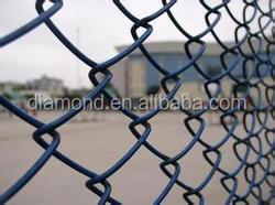 Hot sale Garden Hot Dipped Galvanized Chain Link Fence/Garden Fence/Used Chain Link Fence for Sale(Hebei Anping)