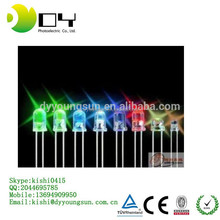 Multi-color optional 5mm DIP LED diodes