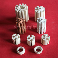 [HUTO CERATRIC] Factory custermized alumina industrial screw ceramic insulator