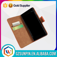 Wholesale genuine pu leather flip case for lg optimus 4x hd p880