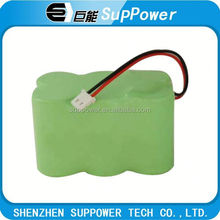 nimh battery pack battery pack 6 volt nimh AAA/AA/A/SC/C/D/F size
