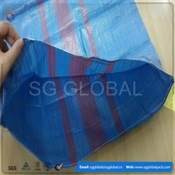 Agriculture recycled PP plastic woven packing bag raw material