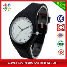 R1096 MOQ only 100pcs for printing logo wholesale silicon watch wrist band