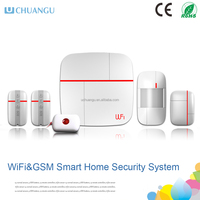 2015 Newest Smart Home Alarms WIFI+GSM Home alarm system