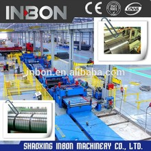 Combined Cutting and slitting machine for steel coils