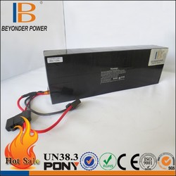 RoHS/CE /UL best safe lithium ion high capacity 72v 50ah lithium ion battery pack with BMS for motor starting
