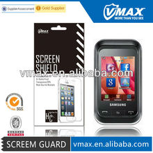 3H Ultra thin ! Mobile screen protector for Samsung champ oem/odm (Anti-Glare)