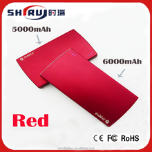 Top Great Portable Mobile Power Pack with Your Logo Printing 5000mAh Capacity