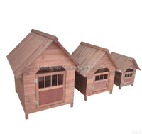 wood pet house for dogs, made of China fir,suitable for large dogs Alibaba supplier