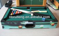 Custom made colorfull printed mini pool table