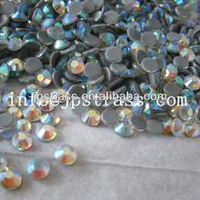 Wholesale environmental hot fix glass rhinestone hotfix China grade AA