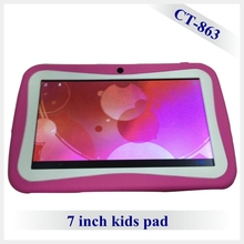 7 inch Quad Core Children Kids Tablet PC RK3126 Android 4.4 MID Dual Camera tablet for kids