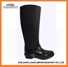 PVC Riding Boot For Women