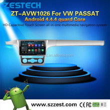 3W WiFi Phone OBDII Car DVD Gps Navigation For VW Passat with Android4.4.4 up to 5.1 1.6GHZz MCU 4 core support all APP
