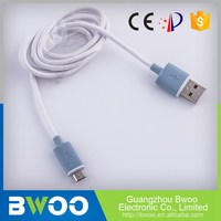 Factory Direct Price Ce Certified Lightweight Low Profile Usb To Micro Usb Cable