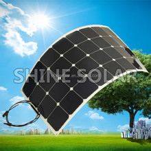 Hot sell low price light weight price per watt solar panels for RV / Boats