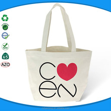 reusable organic cotton canvas tote bag recycled shopping bag