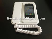New Arrival Radiation protection Bluetooth Telephone for iphone4/4S with Charging function Handsfree (orginal manufacturer)