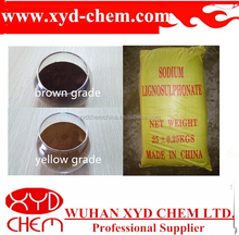 Different kinds of sodium lignosulfonate coal binder with COA and MSDS