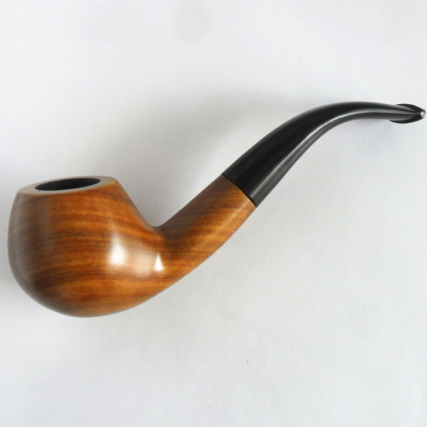 Vintage ornate wood smoking pipe unique hand made tobacco for What are old plumbing pipes made of