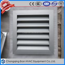 HVAC system aluminum louver window frames