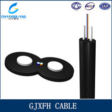 Factory Supply FTTH 2 Core multi Mode Bow-type Drop Optical Cable GJXFH/GJXH