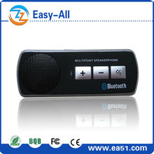 Bluetooth car amplifier with speaker and microphone for music play and answering calls
