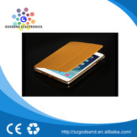 Best Selling Newest design brown wallet leather case for ipad mini