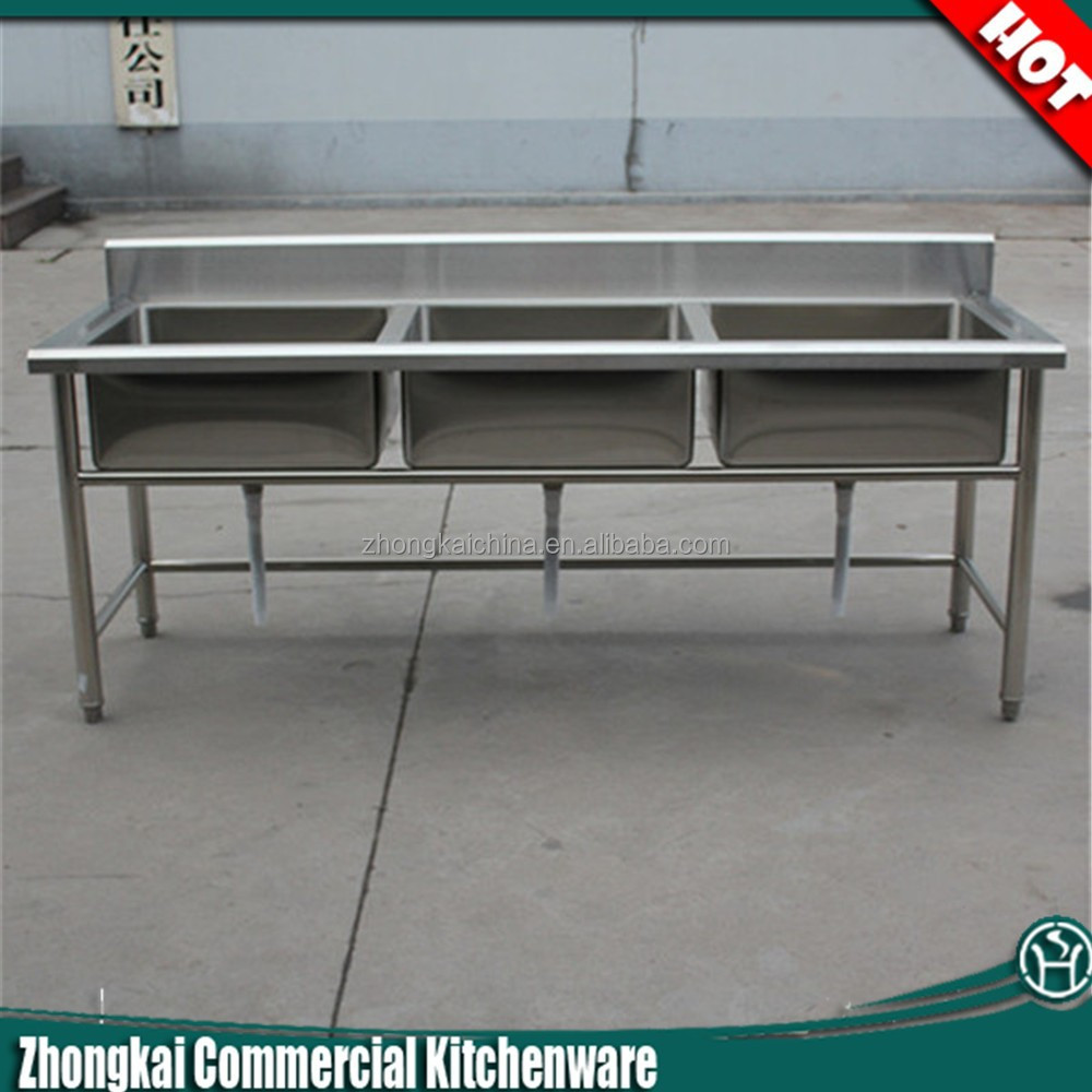 Commercial Triple Sink : Stainless Steel Sink - Buy Stainless Steel Sink,Commercial Triple ...