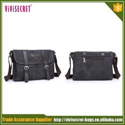 oem custom cheap waterproof vintage style mobile phone sling messenger shoulder bags
