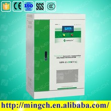 CE ROHS approved 150KVA SBW-Z series three phase compensated avr automatic voltage regulator power supply